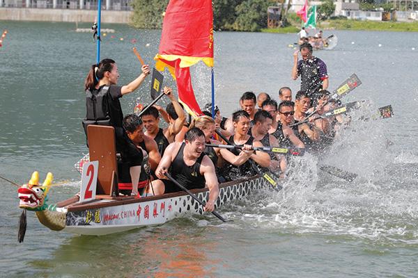 端午精彩龍舟競技