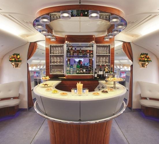 Airbus A380 Interior Private: A Peek Inside The Haute Emirates A380 SFO To Dubai